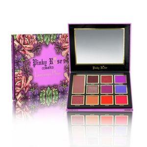 NWT BNIB PinkyRose Cosmetics Luscious Plum Palette